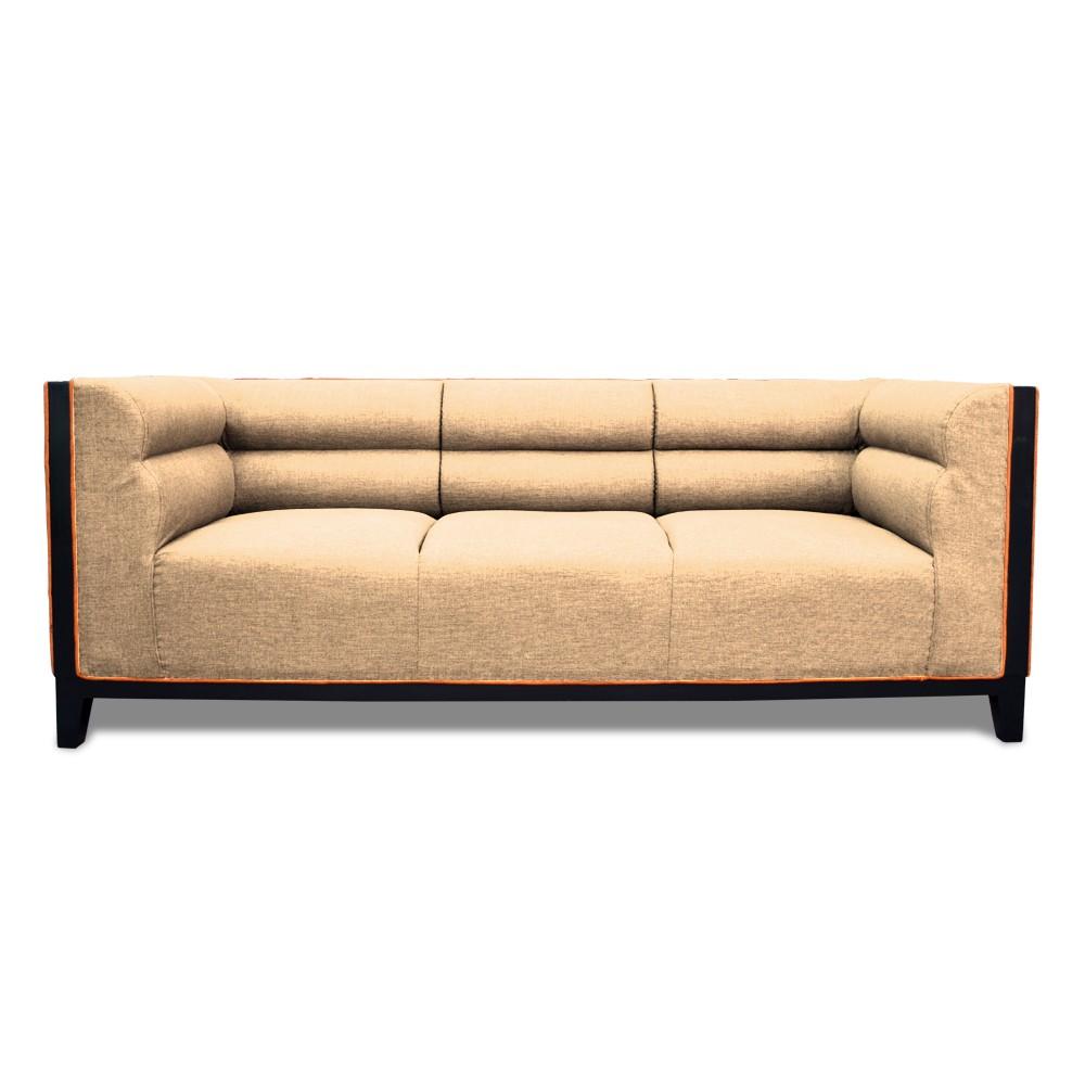 Abraxas  Three Seater Sofa Cream