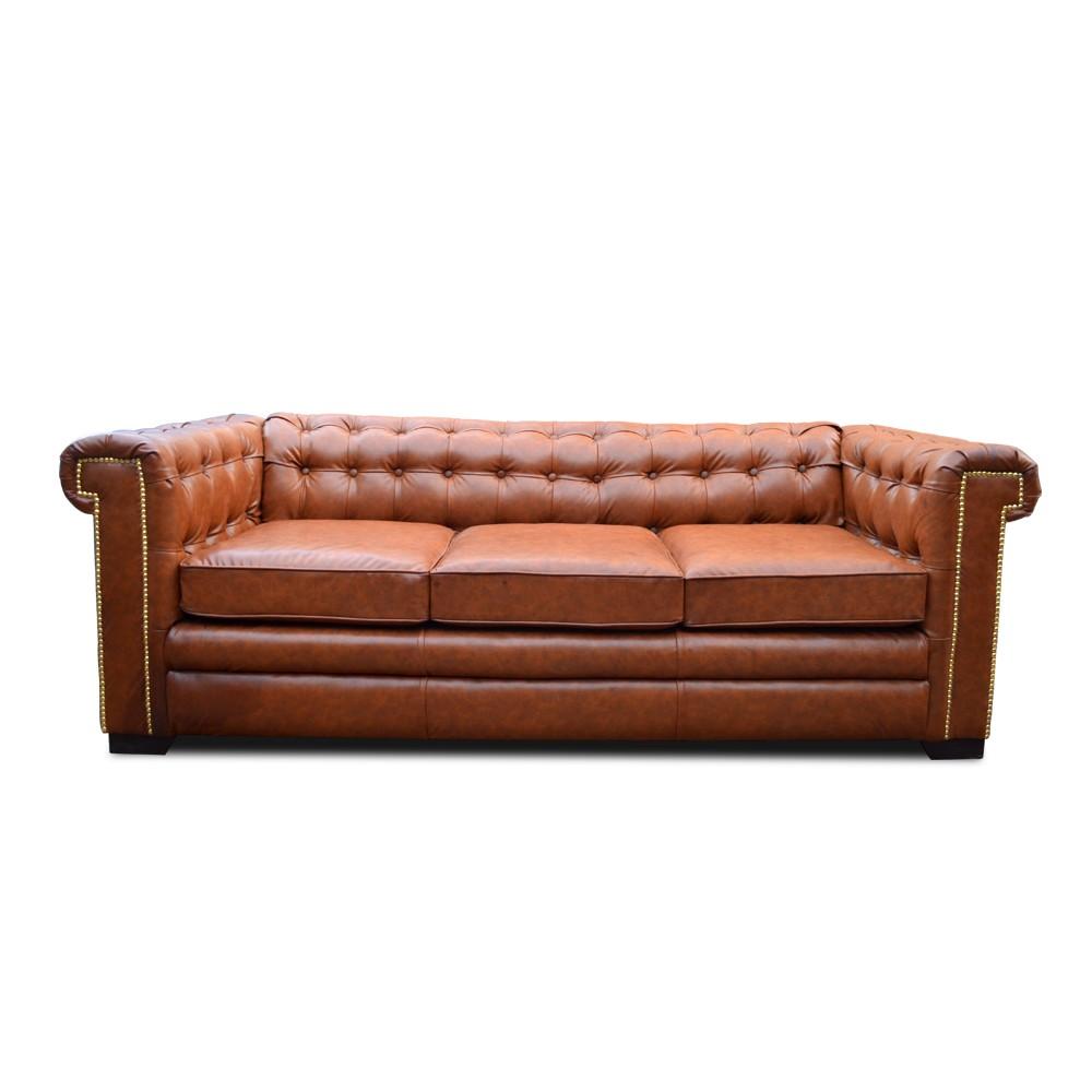Cambridge Three Seater Chesterfield Sofa