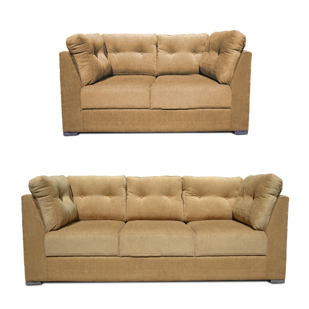 Canberra Sofa Set  Beige2