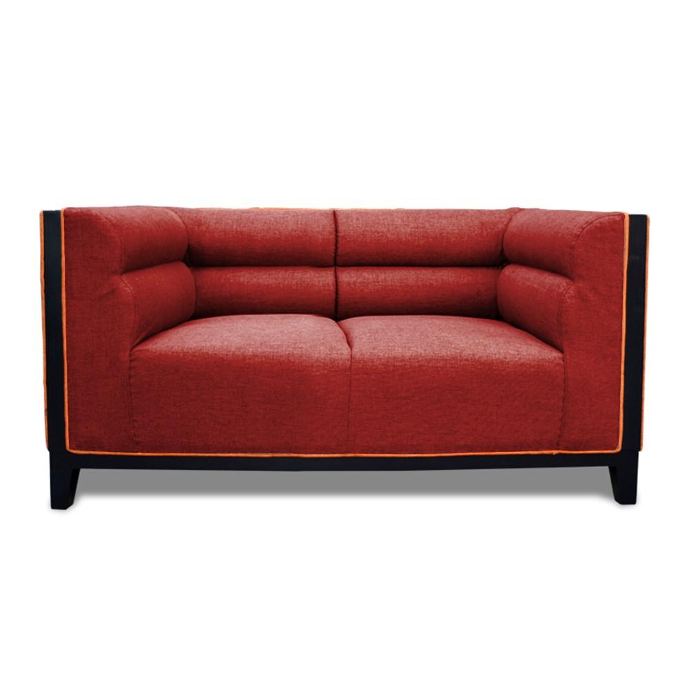 Abraxas  two Seater Sofa maroon