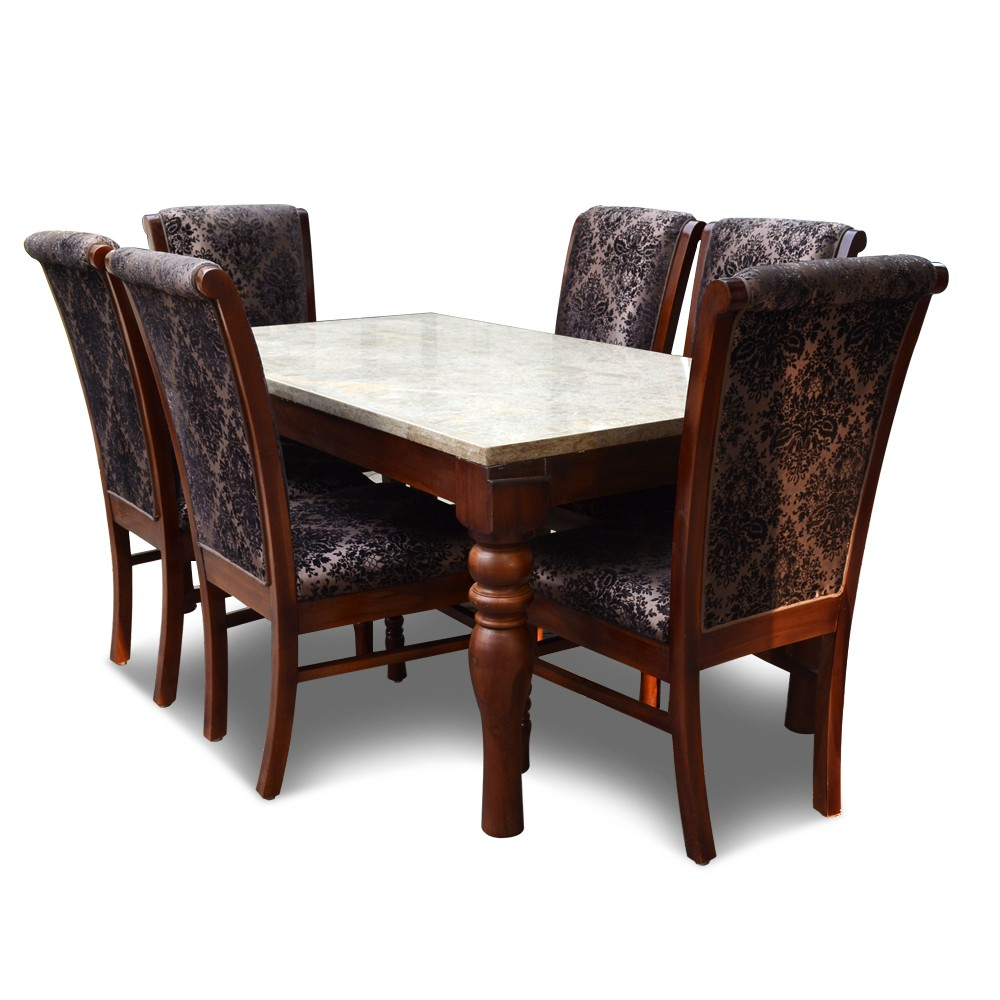 Helena 6 seater dining table 6 seater dining table sets for Dining table set 6 seater