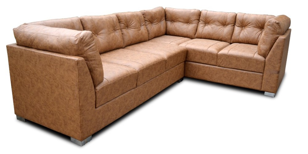Houston Sectional Sofa in Leatherette