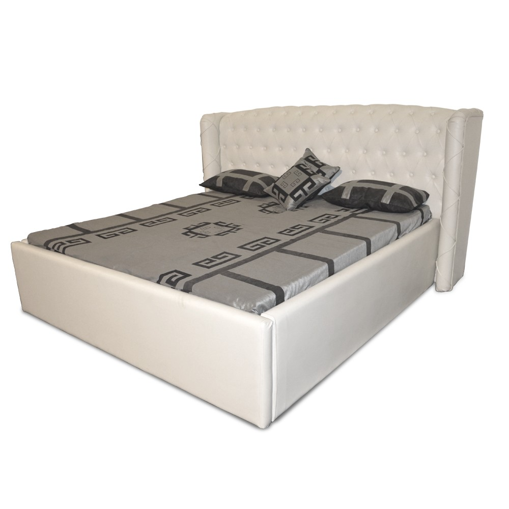 Imperial Queen Size Bed White