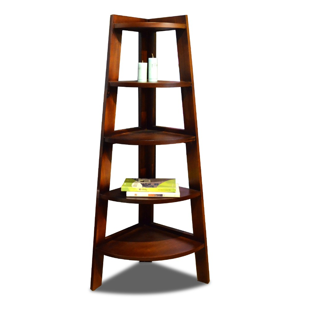 Danya 5 Shelves Ladder Corner Display Unit