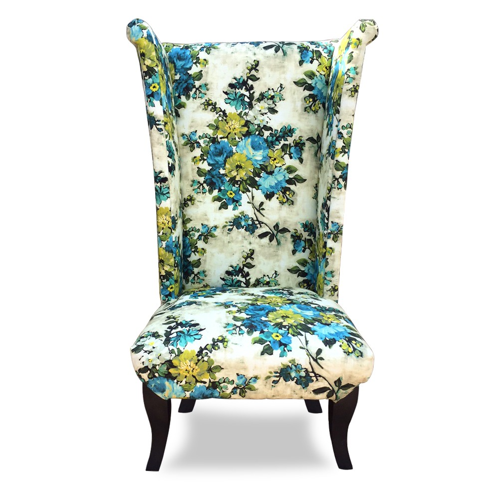 Wing Chair  Printed