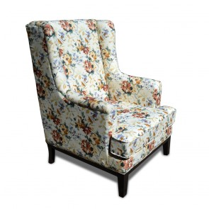 Luca Armchair with Footstool