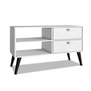 Dalarna White TV Unit