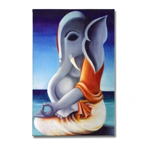 Meditating Lord Ganesha