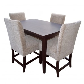 Bianca 4 Seater Dining Table Set