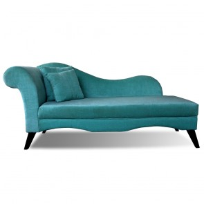 Little Pleasures Chaise Teal Blue