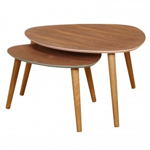 Milana 2 Piece Nesting Tables
