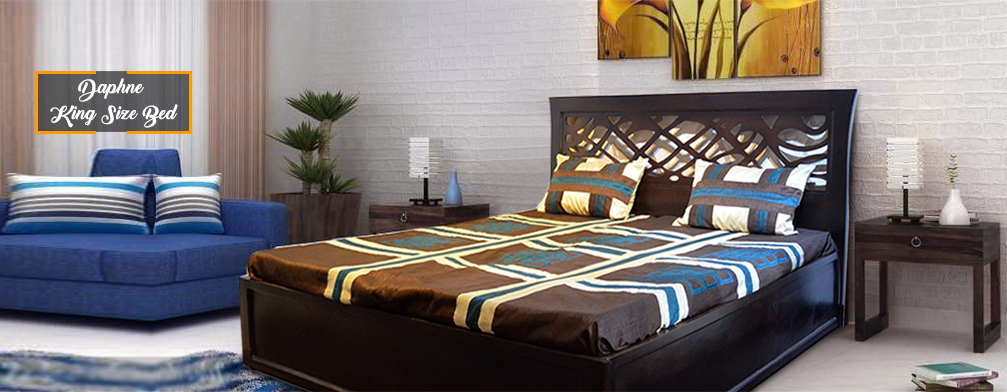 Luxury King Size Bed FURNSTYL