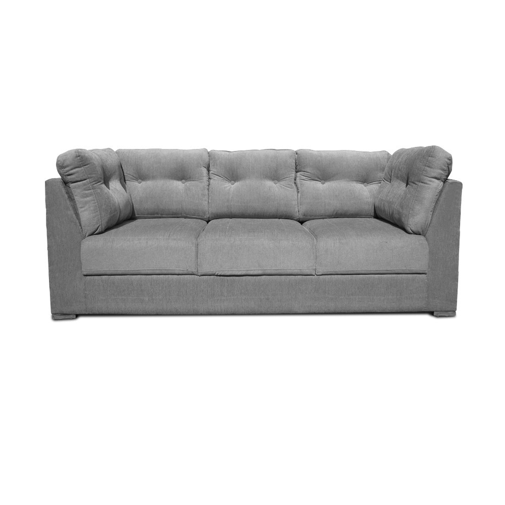 Houston Sofa Set L Grey1