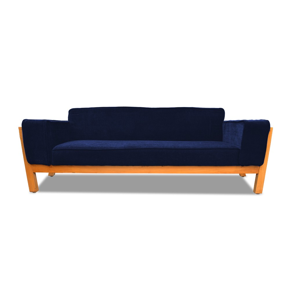 Woodard Two Seater Sofa Blue