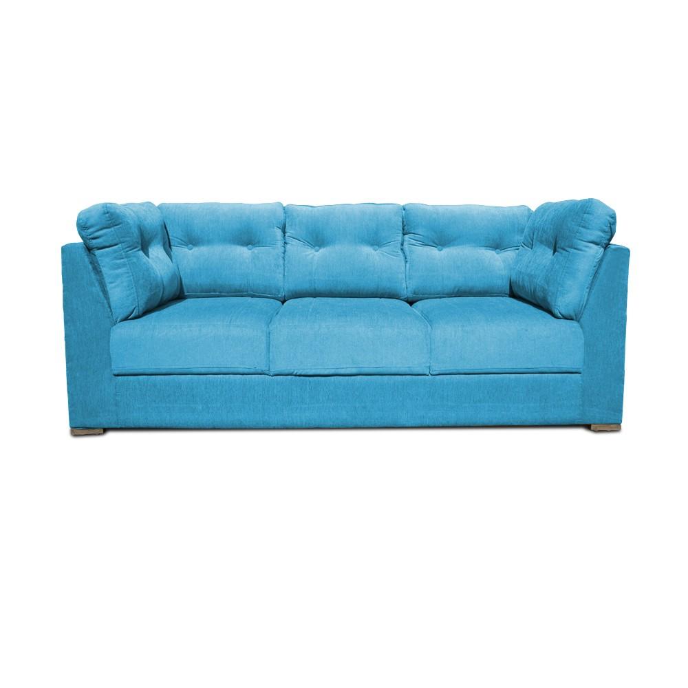 Houston Three seater sofa  T-Blue