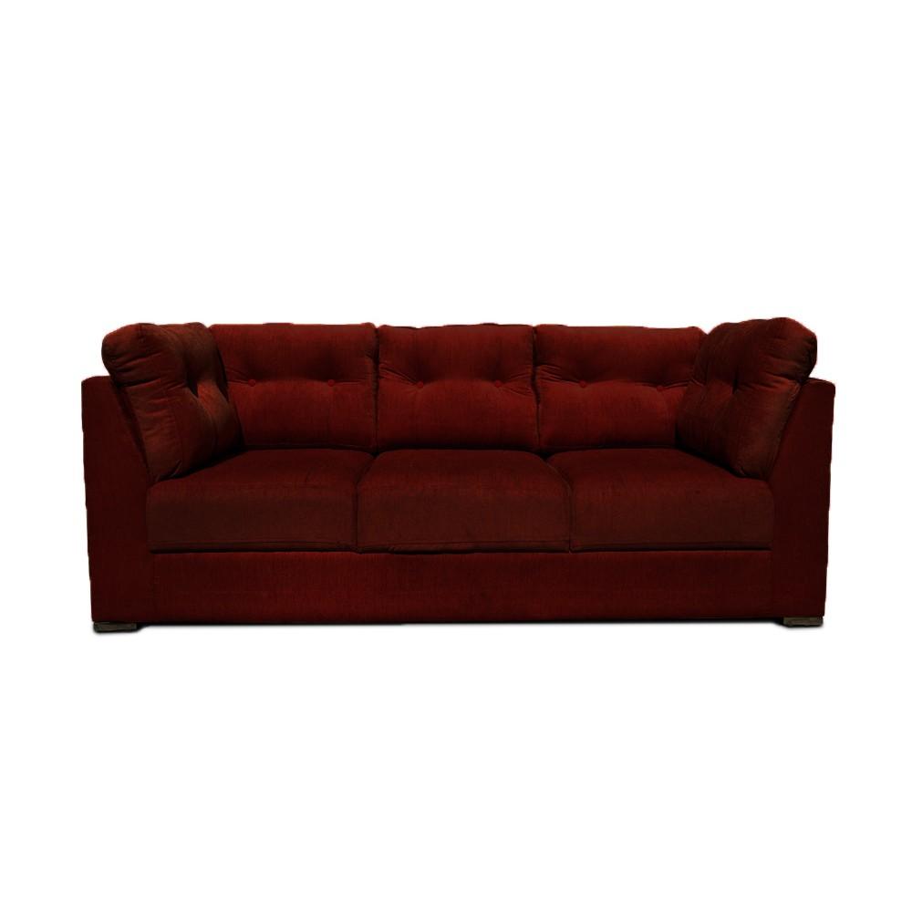 Houston Sofa Set L maroon1