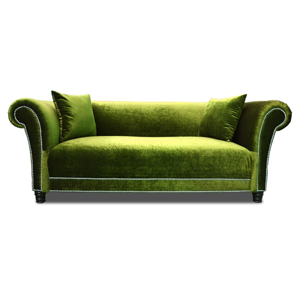 Johann three seater  Sofa  Green
