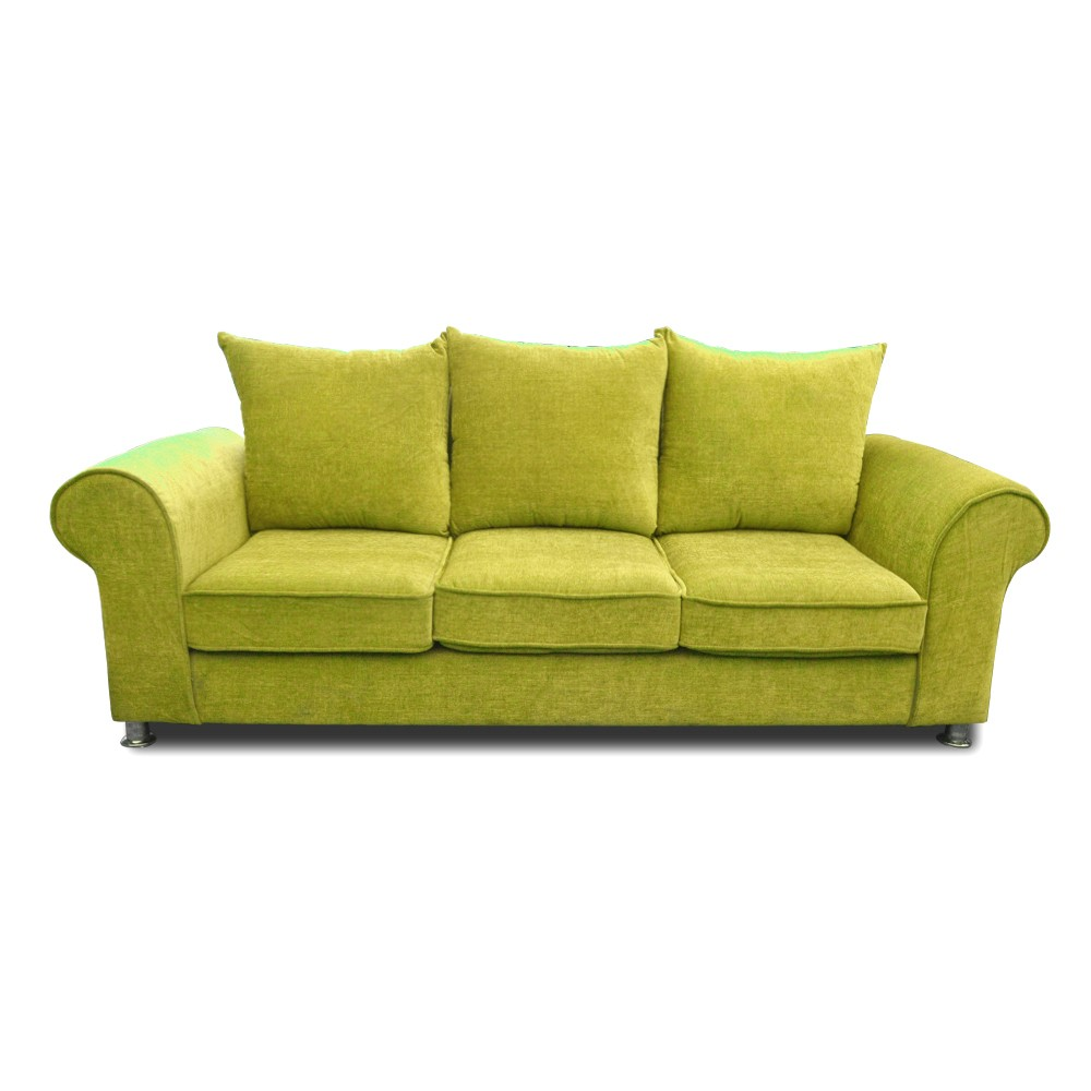 Canberra three Seater sofa green