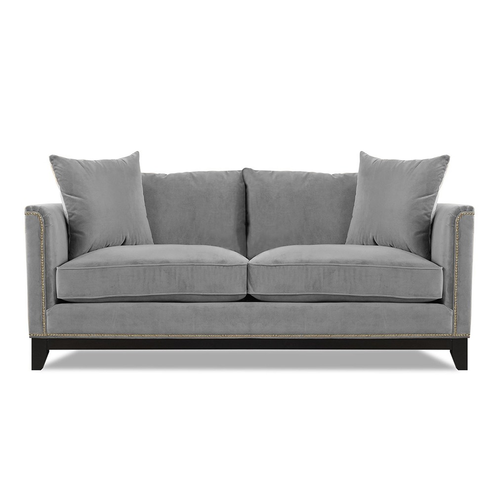 Prague Three Seater Sofa Grey
