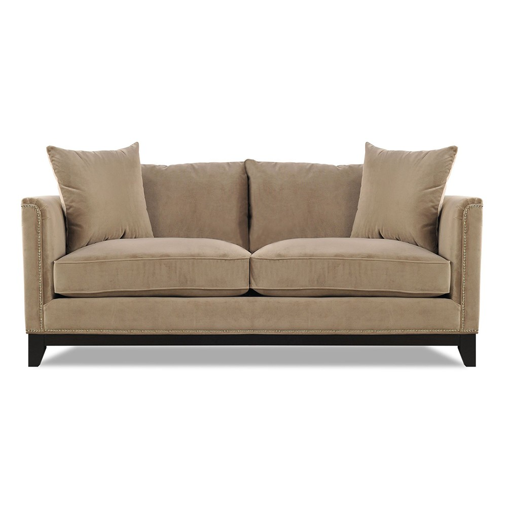 Prague Three Seater Sofa Beige