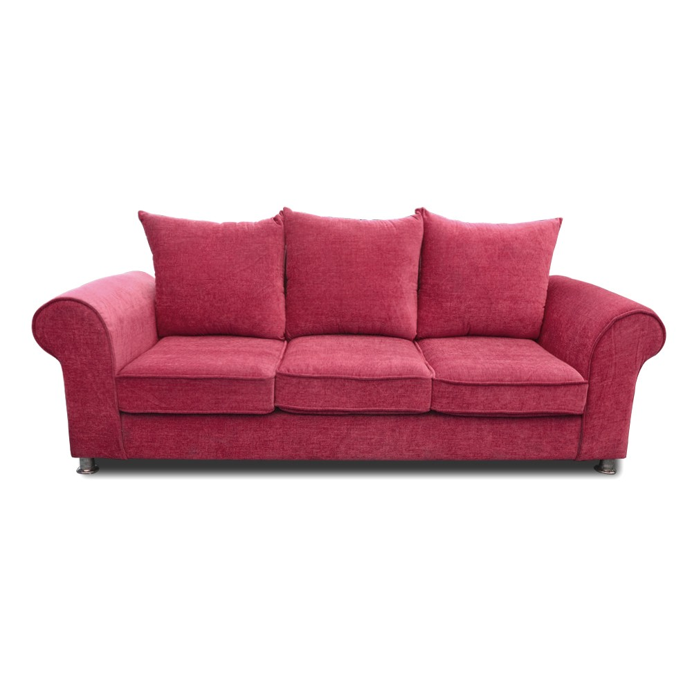 Canberra Three Seater sofa purple