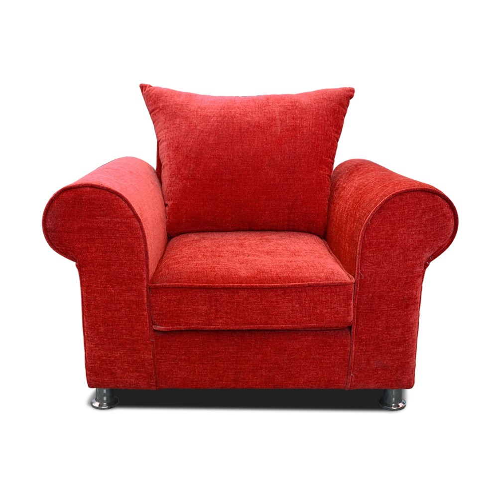 Canberra ArmChair Seater sofa Red
