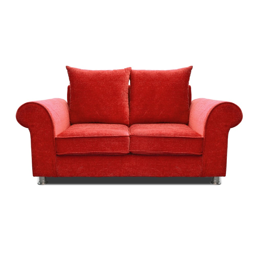 Canberra Two Seater sofa Red