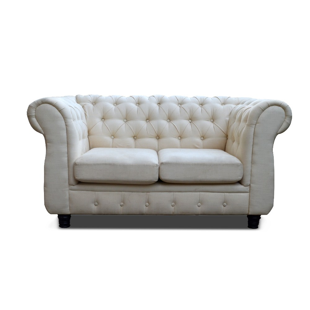 Jordyn Two Seater Sofa White