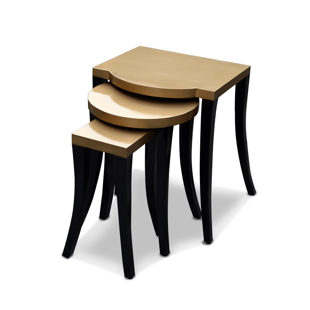 Kylie Nesting Table Gold
