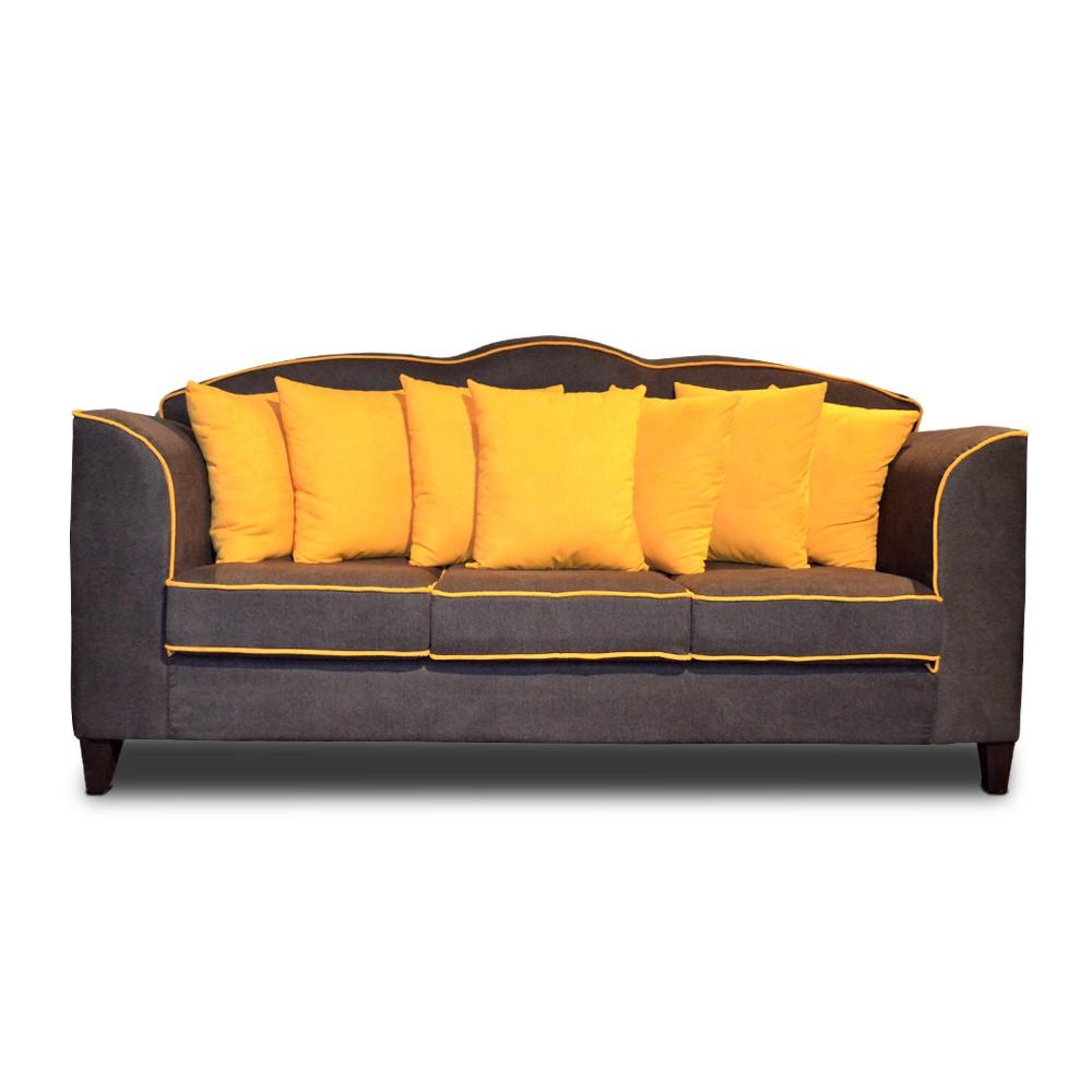 Emma Modern Three Seater Sofa