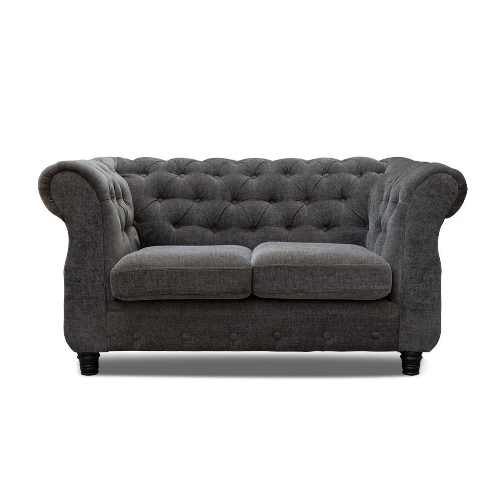 Jordyn Gray Two seater Sofa
