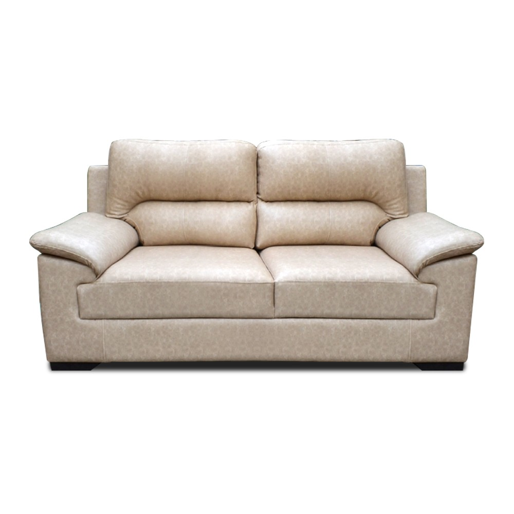 Glamour Two Seater Sofa  Beige