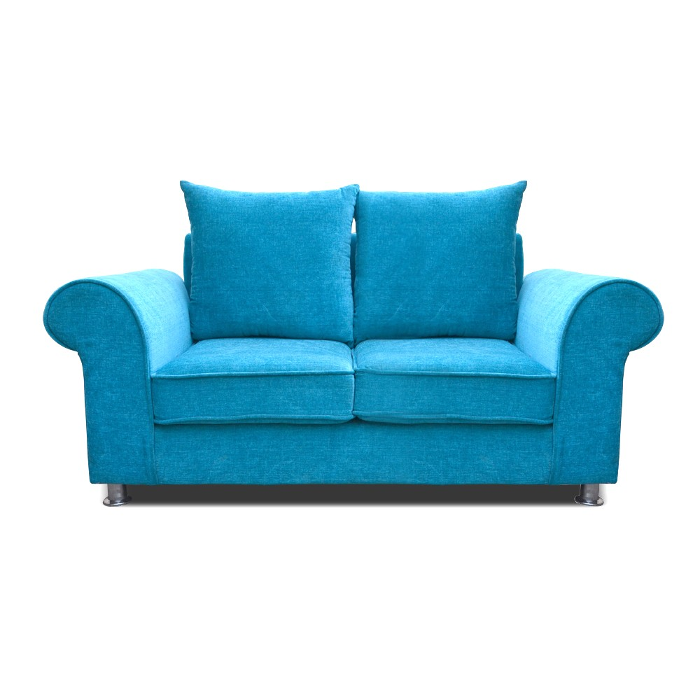 Canberra 2 seater sofa sky blue