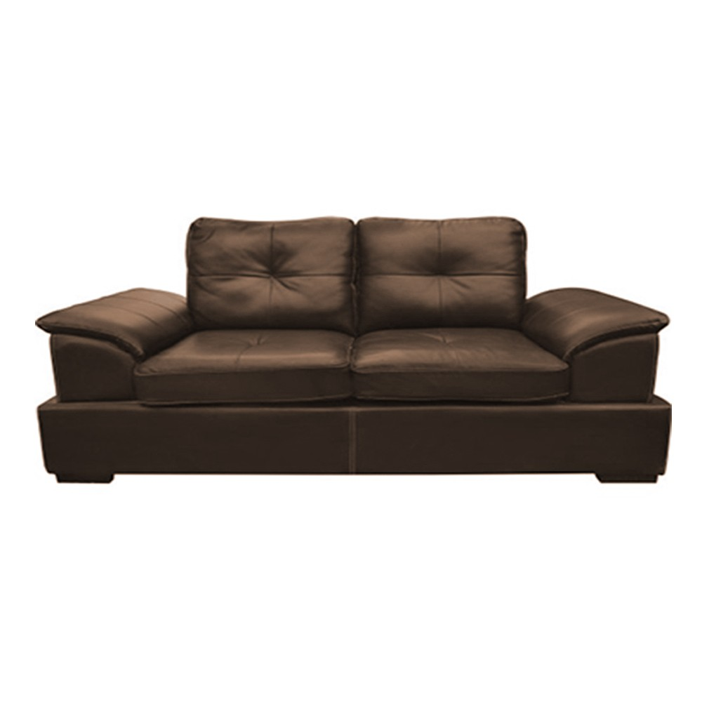 Cairo Three Seater Sofa Brown