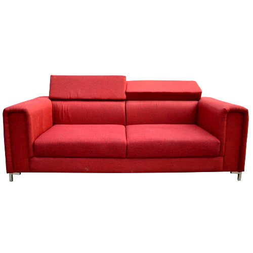 Richemont Three seater Sofa Red