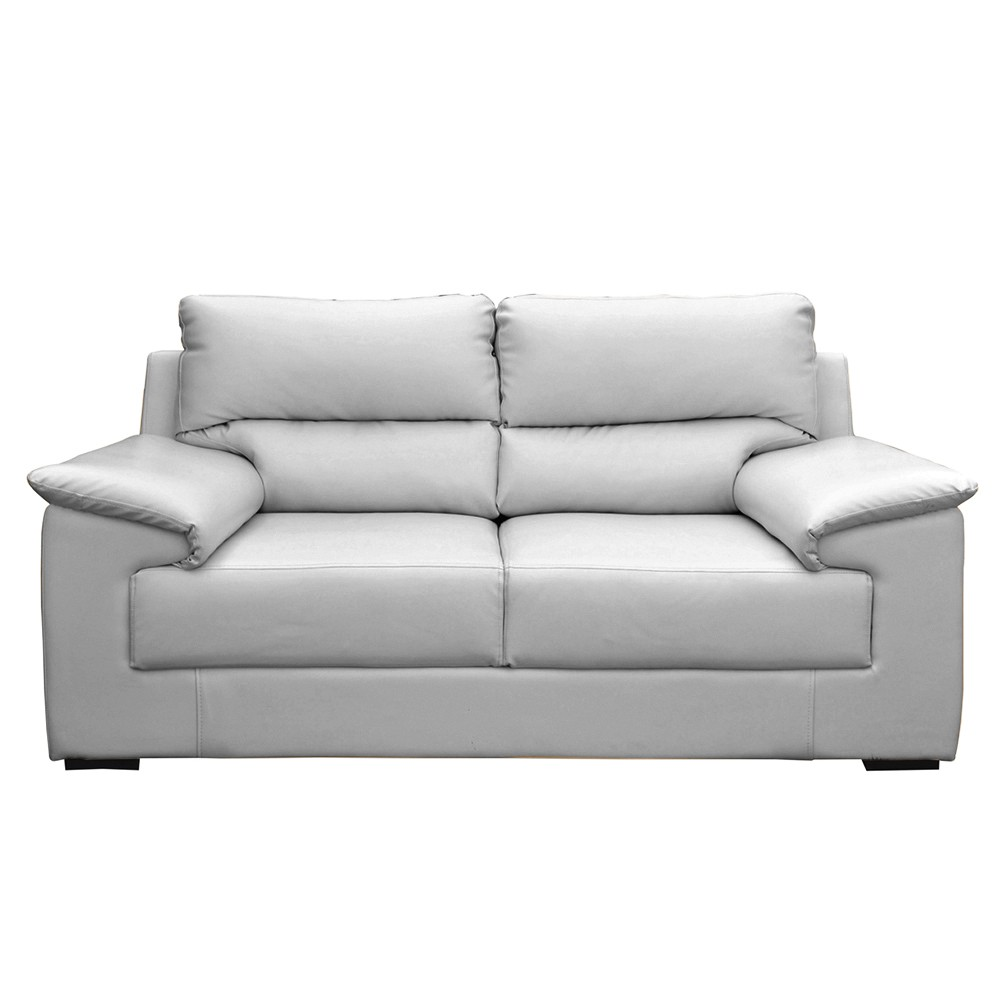 Glamour Two Seater Sofa Grey