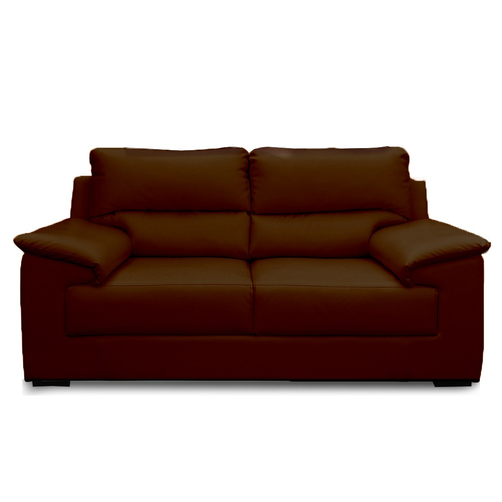 Glamour Two Seater Sofa Coffee color