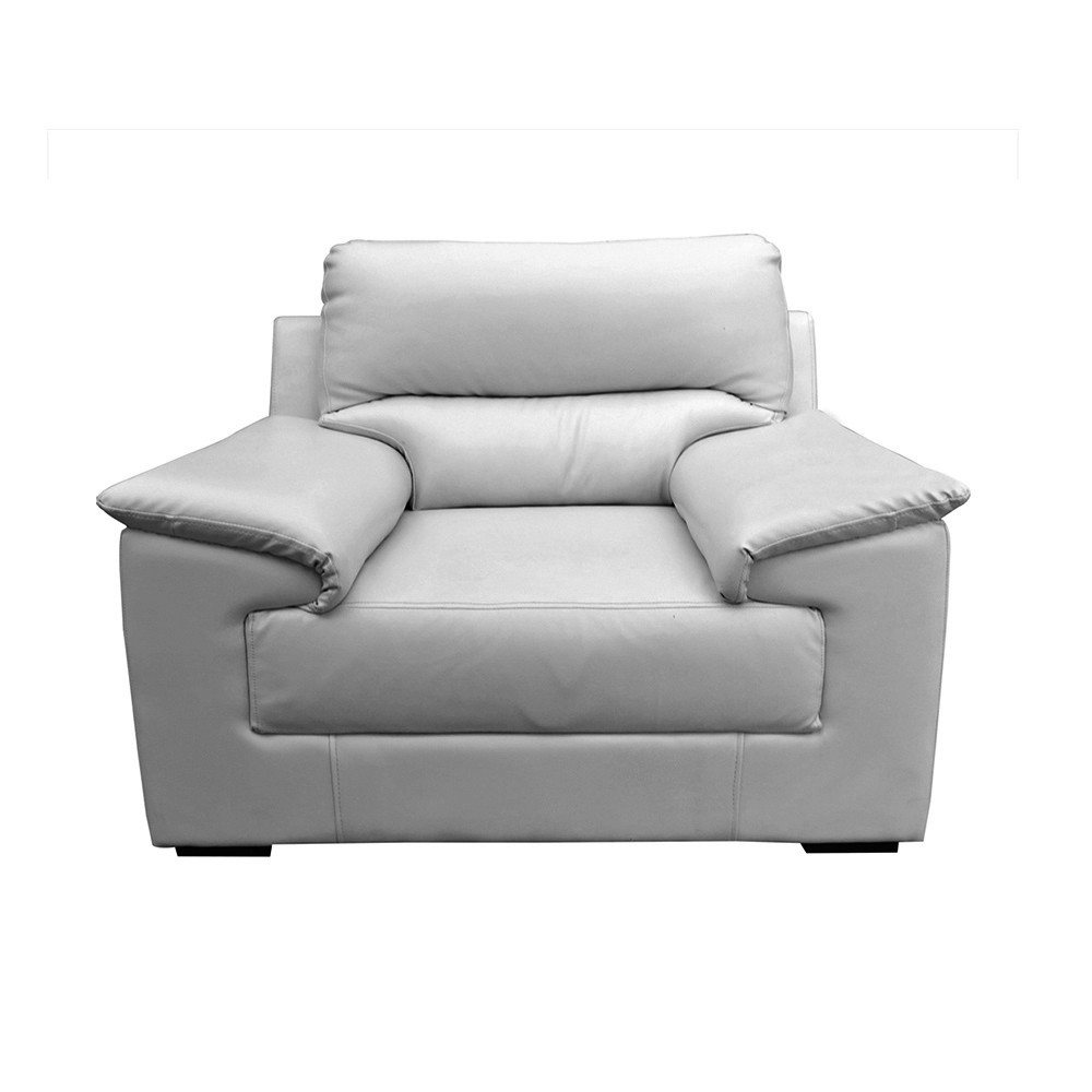 Glamour Aramchair Seater Sofa Grey