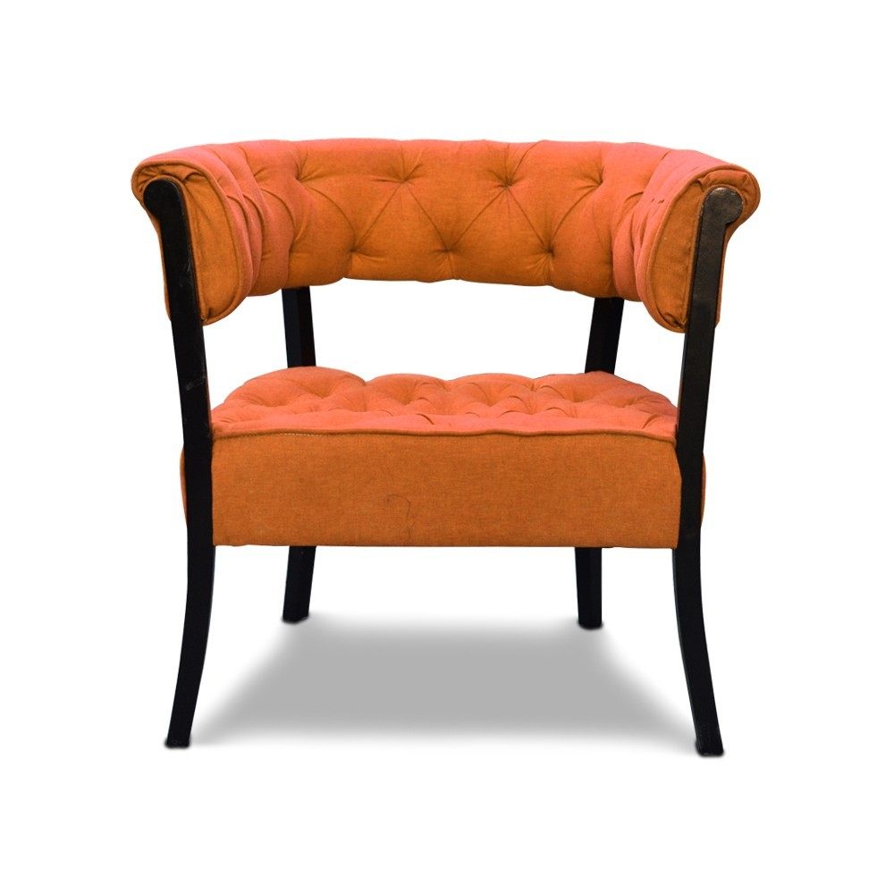 Emma Accent Chair Orange