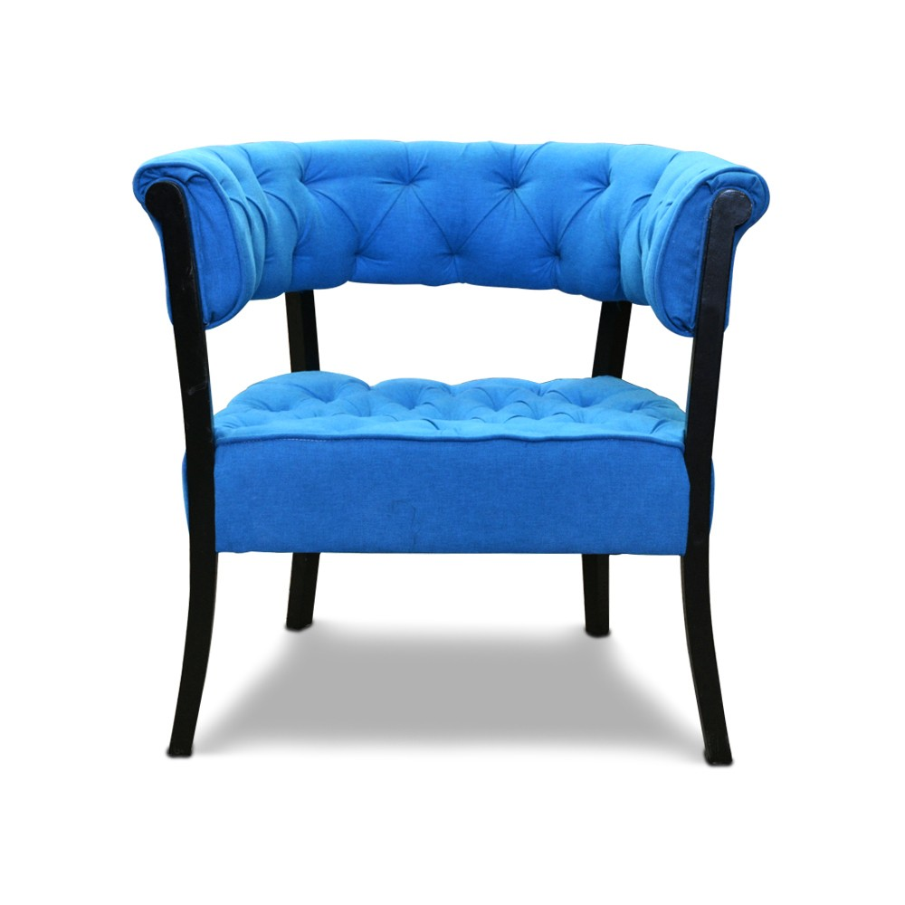 Emma Accent Chair T-Blue