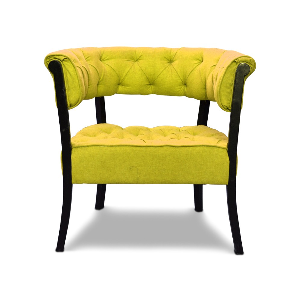 Emma Accent Chair Yellow