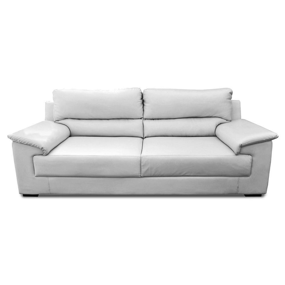 Glamour Three Seater Sofa Grey