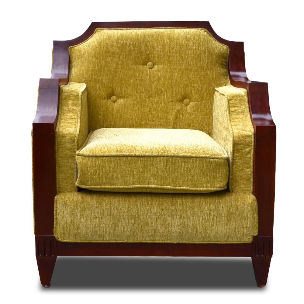 Rest Assured Aramchair Sofa Green