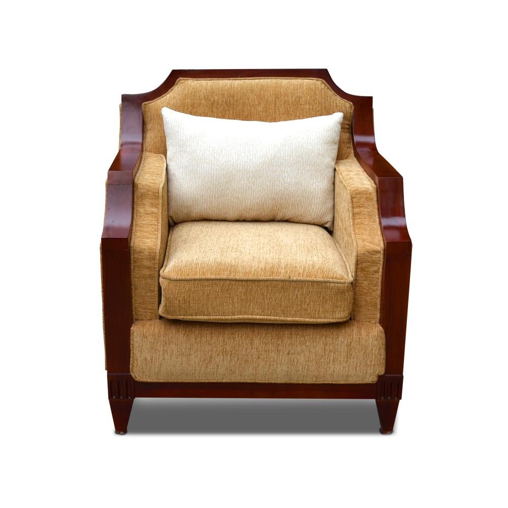 Rest Assured  Aramchair Sofa Beige