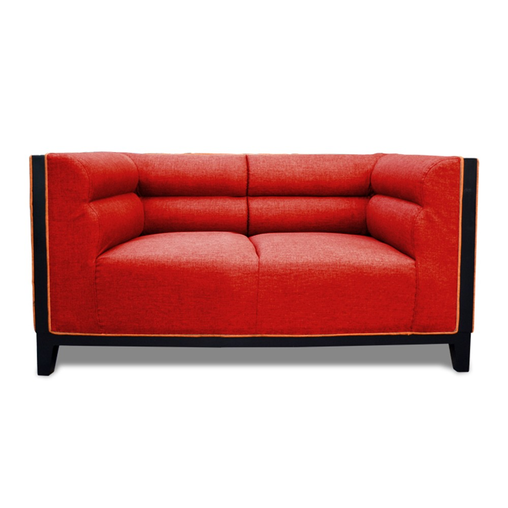 Abraxas  two Seater Sofa Red