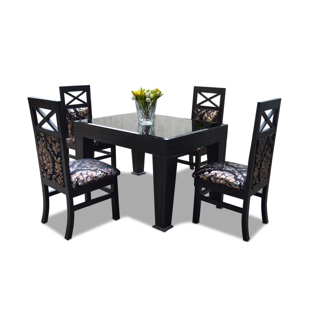 La Rosa 4 Seater Dining Table Set