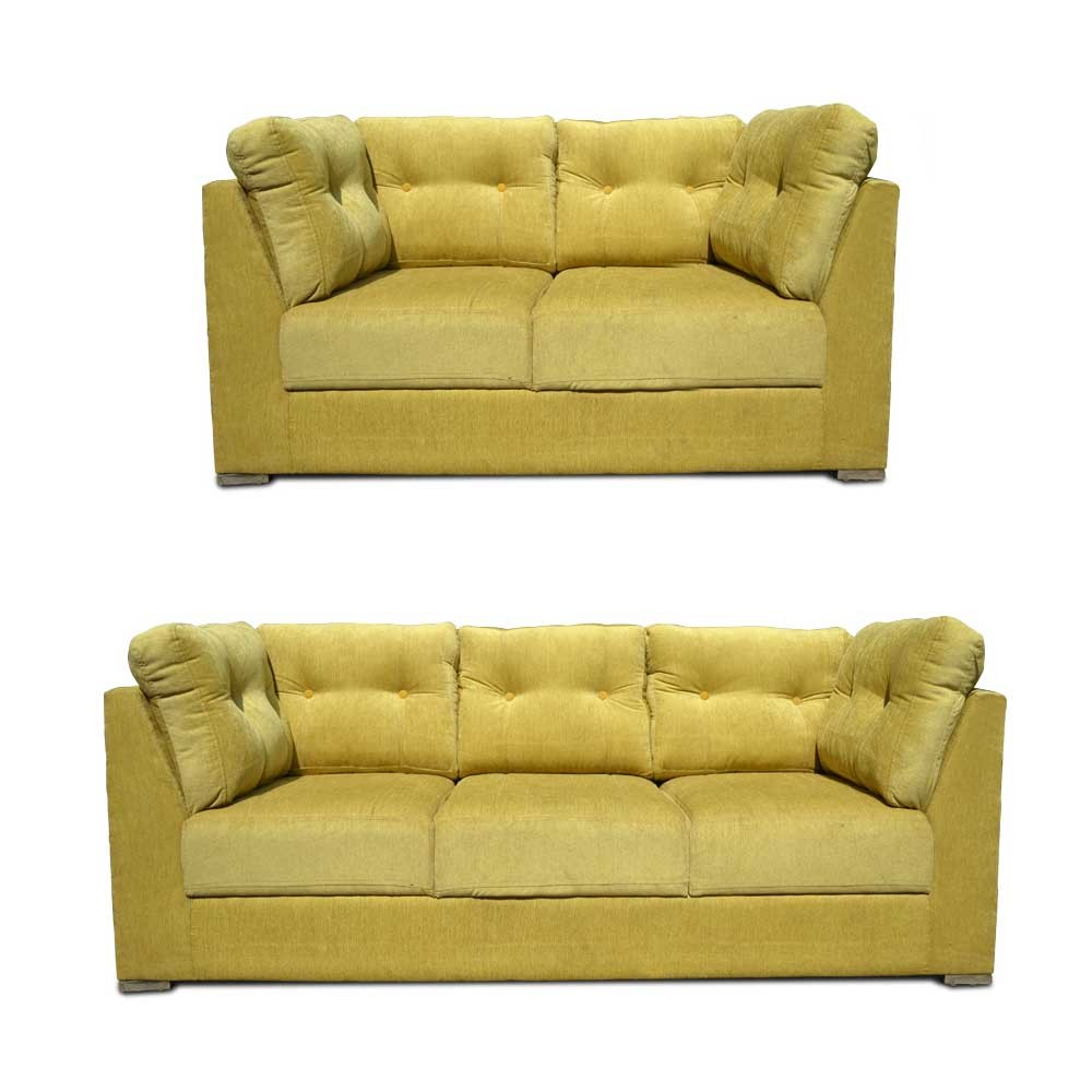 Houston Sofa Set mahandi green2
