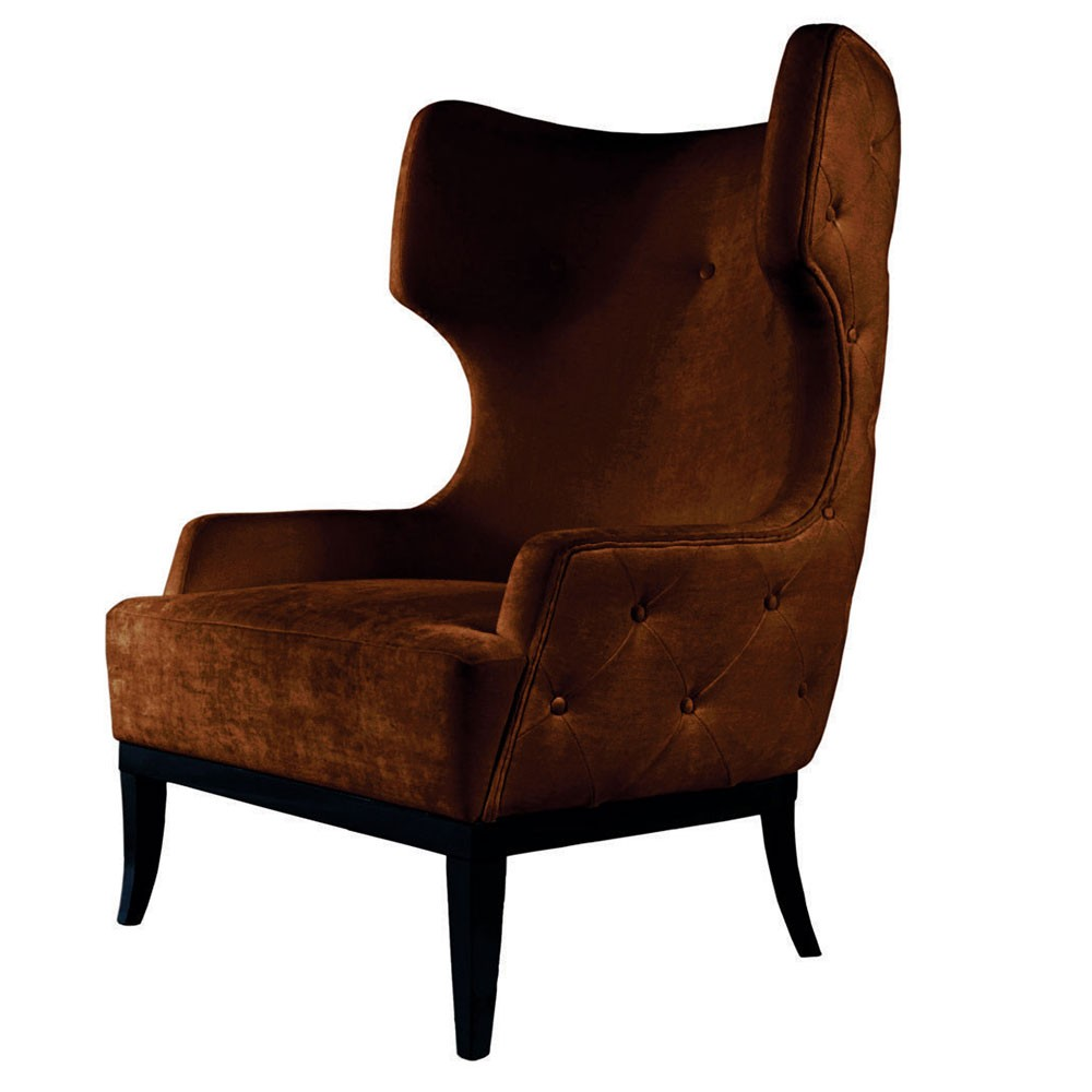 Accent chair 2 Brown
