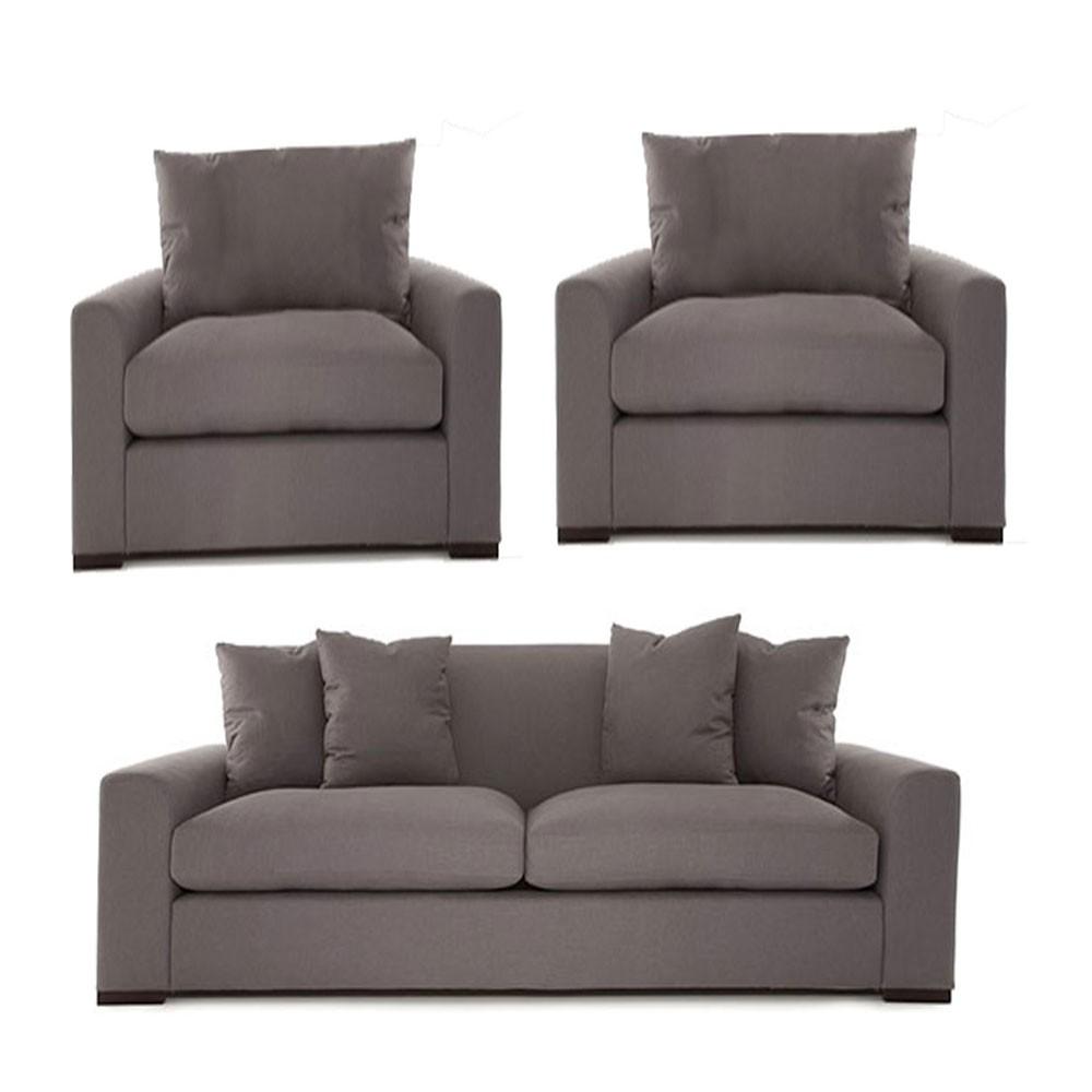 Olando Sofa sets Grey 3+1+1