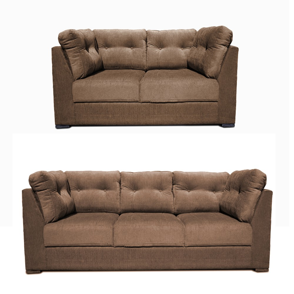 Houston Sofa Set bacco 3+2